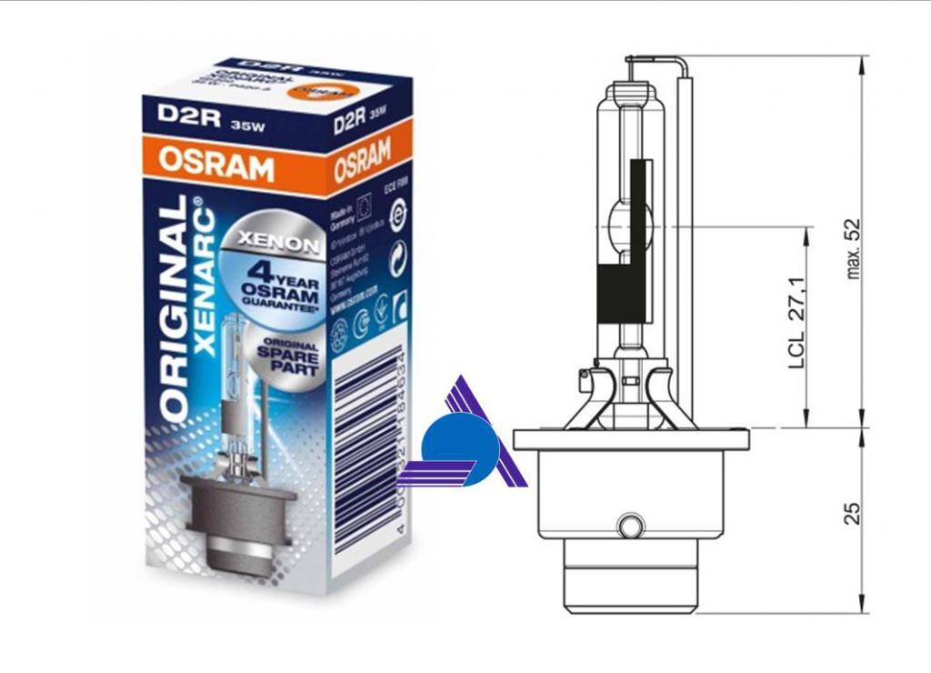 OSRAM 66250 - 1