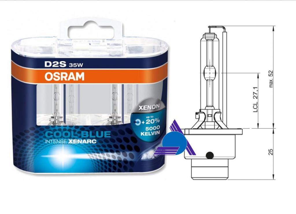 OSRAM 66240CBIDUO - 1