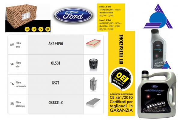 KIT FO28FORD - FORD FOCUS (CAK) (10/98>03/02